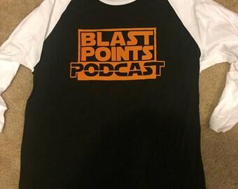 Blast Points orange jersey shirt