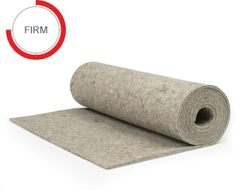 SAE F1 Grade Natural White High Density Industrial Wool Felt Stripping with Adhesive