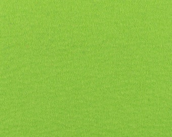 Designer Wool Felt by Foot  Teal Solid Tone  70.9 Wide x 1 ft Long x 3mm or 5mm Thicknesses Available