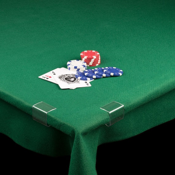 4 Yrd Red Baize Felt Craft Fabric Card Poker Table
