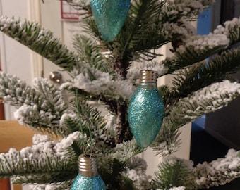 CUSTOM MELLO YELLO ANGEL CHRISTMAS ORNAMENT RECYCLE CHRISTMAS