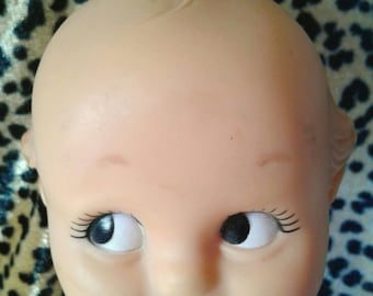 Adorable Kewpie Doll, Signed Cameo 1974
