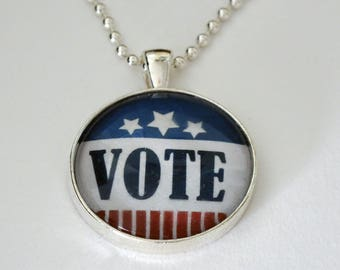 Pendant Image Jewelry VOTE