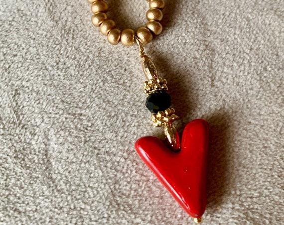 Victory Arrowhead necklace.