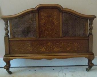 English Walnut Bed, 1918-1925