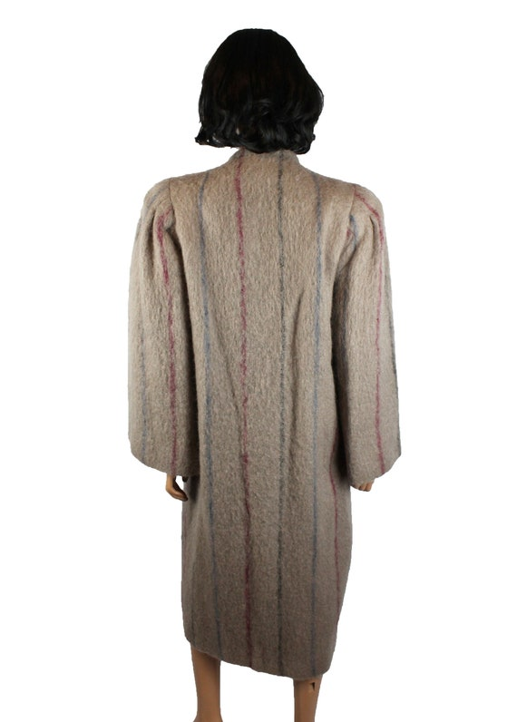 Designer Coat Sz 8 M Vintage 80s Pauline Trigere … - image 6