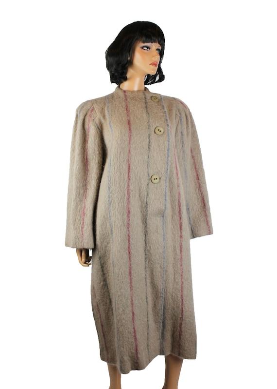 Designer Coat Sz 8 M Vintage 80s Pauline Trigere … - image 5