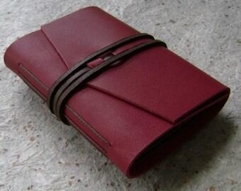 Wallet Size Mini Leather Photo Album Brag Book 3 X Etsy