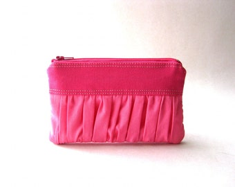 SALE - The True Romantic Coin Purse in hot pink / pink