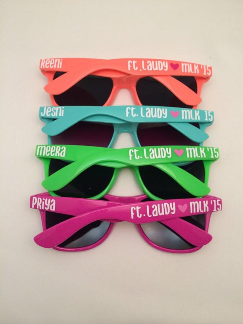 Personalized Sunglasses Bachelorette party Bachelorette image 0