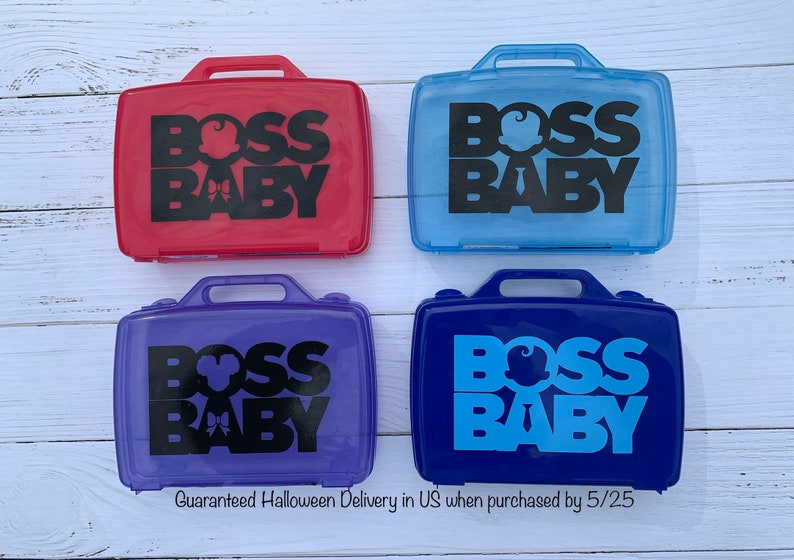 Boss Baby Treat Bag Boss Baby Party Favor Boss Baby image 0