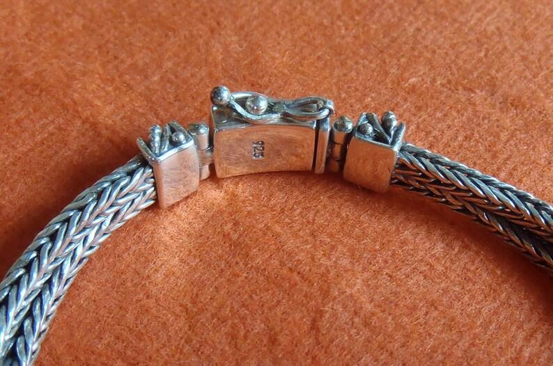 Chain sterling Silver Bracelet white ocean Mabe pearl  Silver 925   Bali handmade jewelry