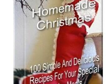 eBook 100 HOMEMADE CHRISTMAS Special Recipes