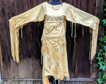 Native American Wedding Dress Etsy