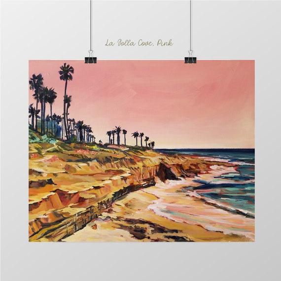 Coastal Home Decor La Jolla Cove San Diego California Poster Art Print