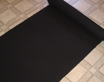 18oz - #8 - 100% Cotton Canvas Duck -  Black