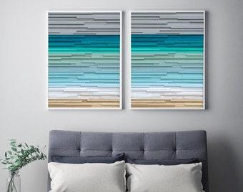 Wood Wall Art, Beach Art, Ocean Wall Art, Wood Sculpture, Home Decor, Wall Decor, Wall Art, Ocean Art, Wood Wall Sculpture, Ocean Painting