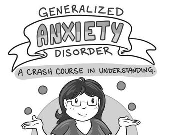 Anxiety! A Crash Course in Understanding mini comic zine