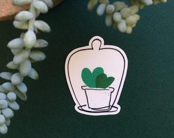 Sweetheart Hoya Cloche Sticker