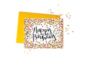 Confetti Happy Birthday, Boxed Set of 8
