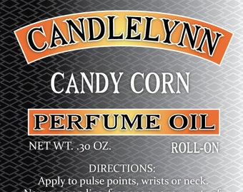 CANDY CORN Roll On Perfume Oil