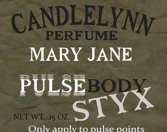 Pulse Body Styx Perfume - Mary Jane