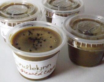 6 Soy Wax Tart Littles - CREAMY CARAMEL COFFEE
