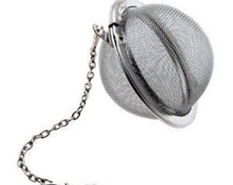 "2"" Stainless Steel Mesh Ball for Bath Salts, Teas and more"