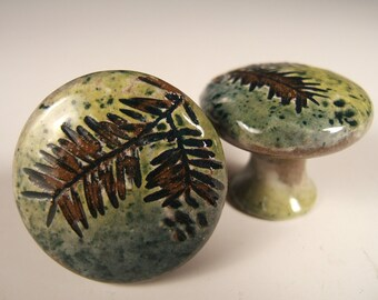 10 Cabinet Knobs Drawer Pulls Rustic Home Decor Nature