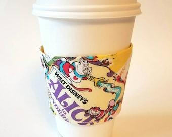 I heart Vintage Disney  - Reusable Coffee Sleeve