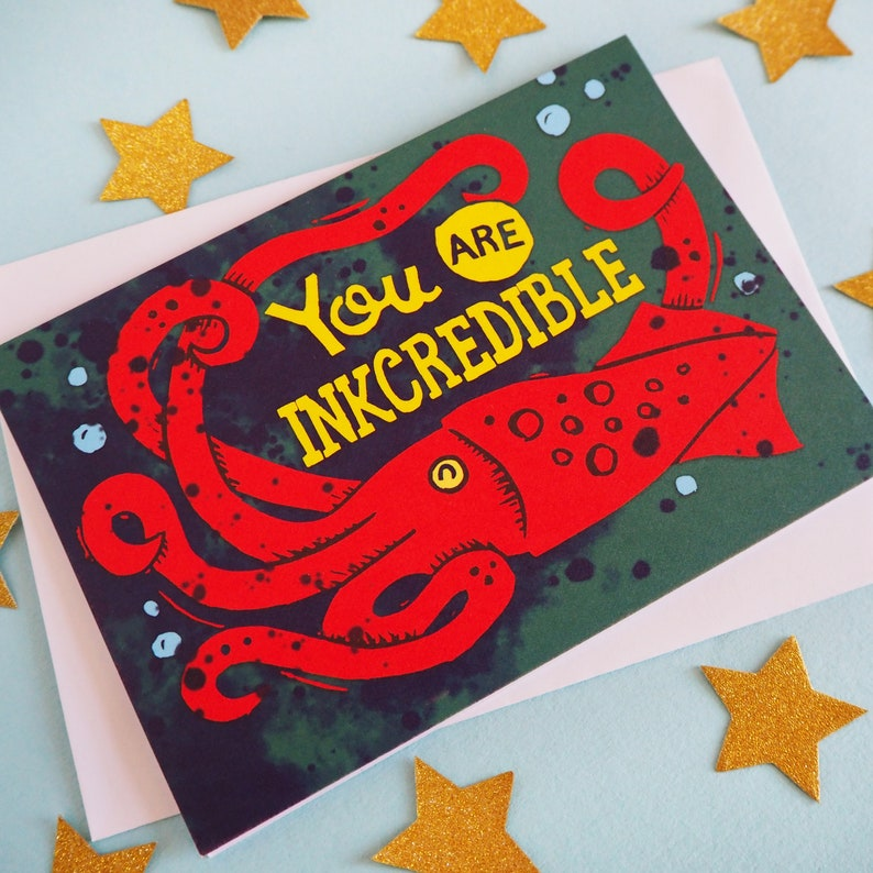 You're Incredible Funny Card Anniversary Card Valentines image 0