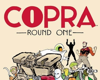 COPRA ROUNDS 1-5 · Image Comics Editions · Signed