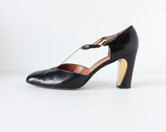 295bb398d0bb3 Black heels 8 | Etsy