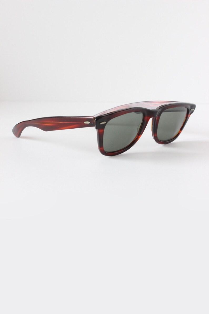 af35301a14 Vintage 1960s B L Ray Ban Wayfarer Sunglasses