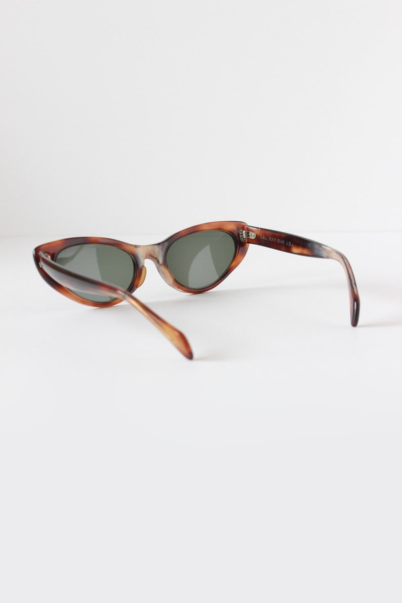 7eef5127b7 Vintage 1960s B L Ray Ban Alita Tortoise Shell Cat Eye