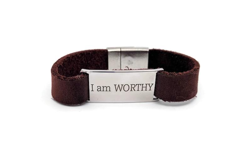 I am WORTHY Bracelet