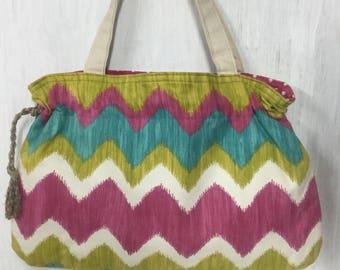 Colorful print purse