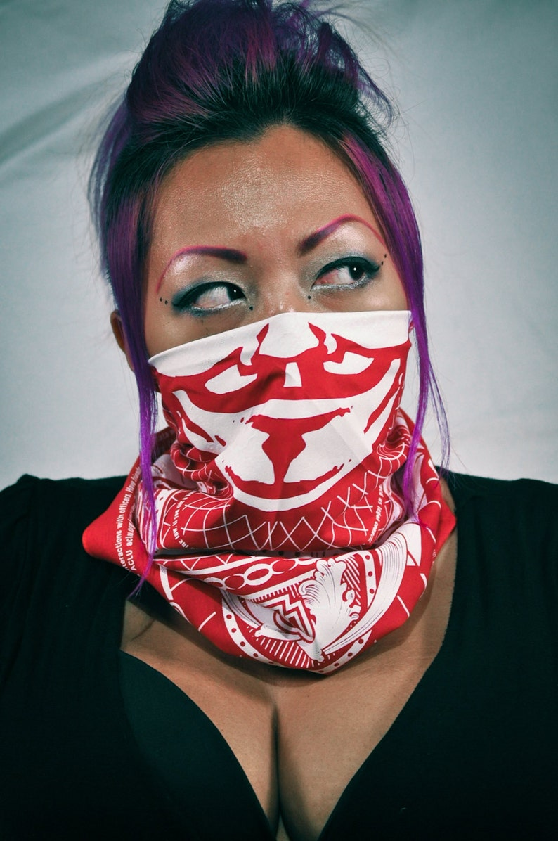 OWS Bandana in RED image 0