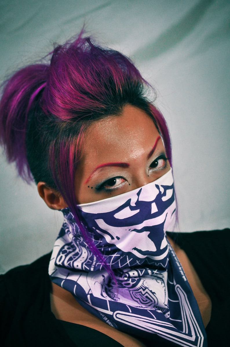 OWS Bandana in PURPLE image 0