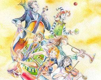 Musical Voyage Giclee Reproduction
