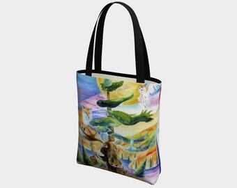 Canadian Wildlife Tote Bag