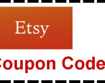Etsy Promotional Codes Coupons Discounts Free Shipping