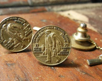 1971 Southern Pacific E. H. Harriman Safety Award Pin