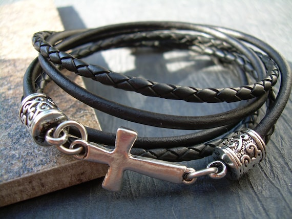 V01 Verschluss Lederband Lederarmband Schmuck Ketten Clasp Leather Bracelet