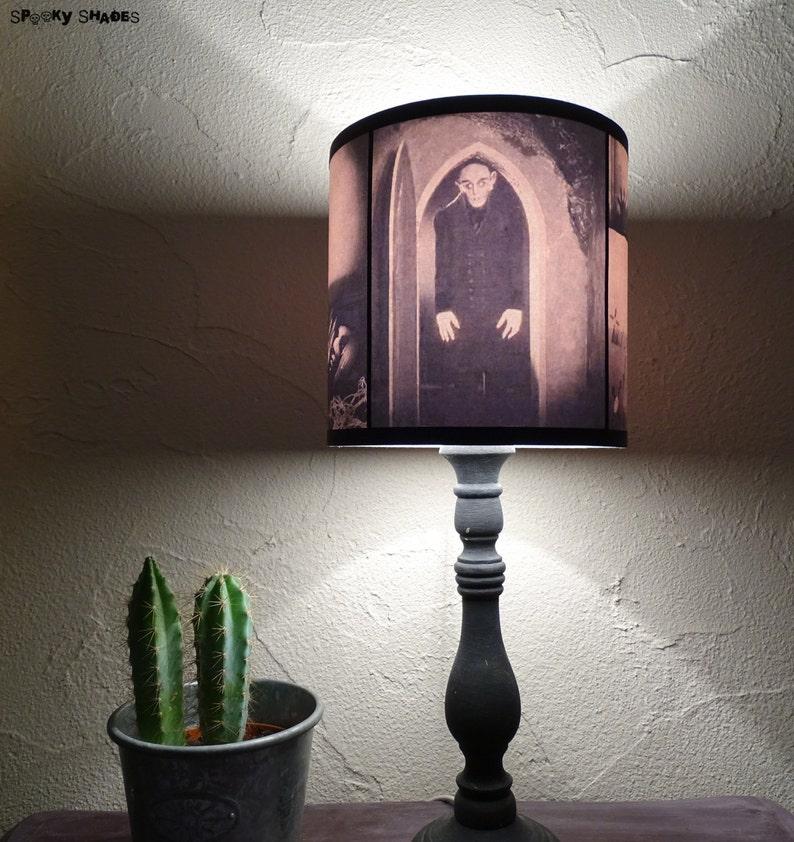 Nosferatu Lampshade Lamp Shade Lighting Halloween Decor