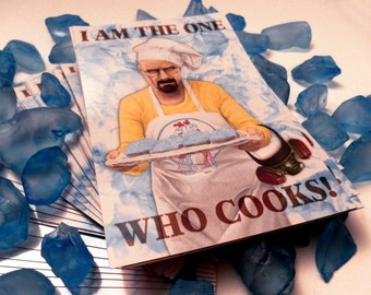 "Breaking Bad Magnet ""I am the one who cooks!"""