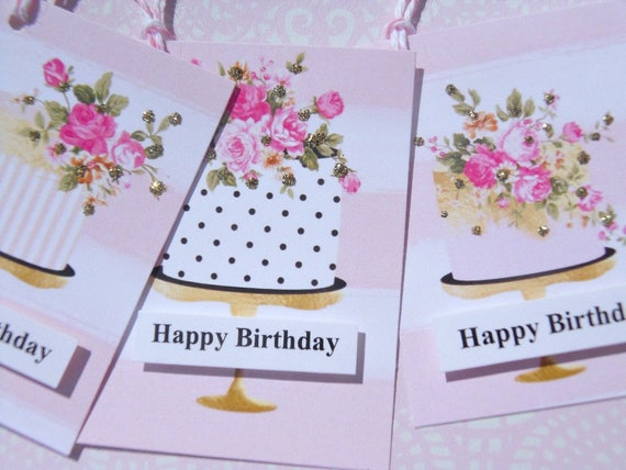 Happy Birthday Gift Tags For Foodies Bag