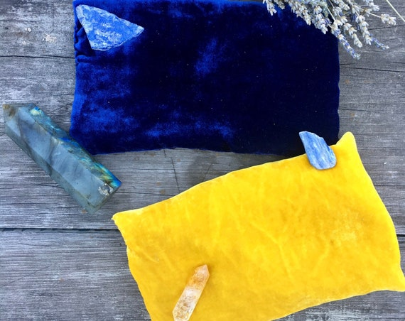 Magic Dreamwork Pillow: Prophetic or De-Stress - Handmade and Natural
