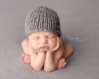Newborn Hat Boy, Newborn Photo Prop Boy, Newborn Boy Props, Newborn Boy Hat Photo Prop, Newborn Beanie, Knit Newborn Hat, Knit Baby Hat Knit