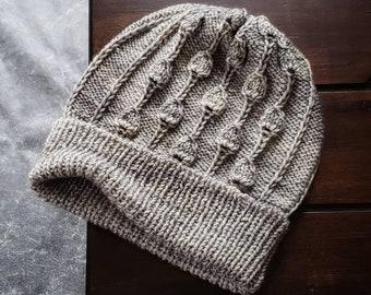 Knit Hat Pattern, Knitting Patterns Hats, Knit Beanie Pattern, Chunky Knit Hat Pattern, Knit Womens Hat Pattern, Days Ahead Hat Pattern